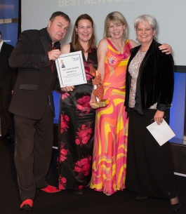 BEST NEWCOMER AWARD: MYLINGERIE OF BUNTINGFORD