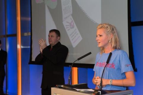 Kristin Hallenga from CoppaFeel!